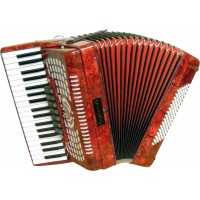 Stephanelli 96 Bass Accordion - RED